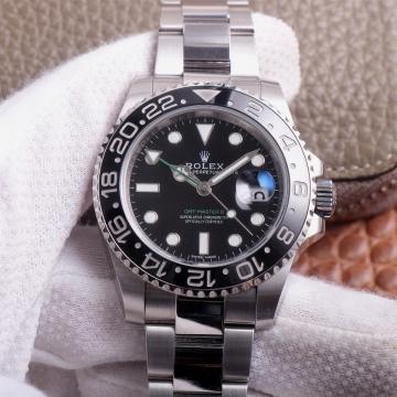 N厂劳力士格林尼治GMT-MasterII 116710LN(绿针)型号价格